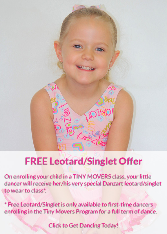 Enrol and Receive Free Leotard (Conditions apply)