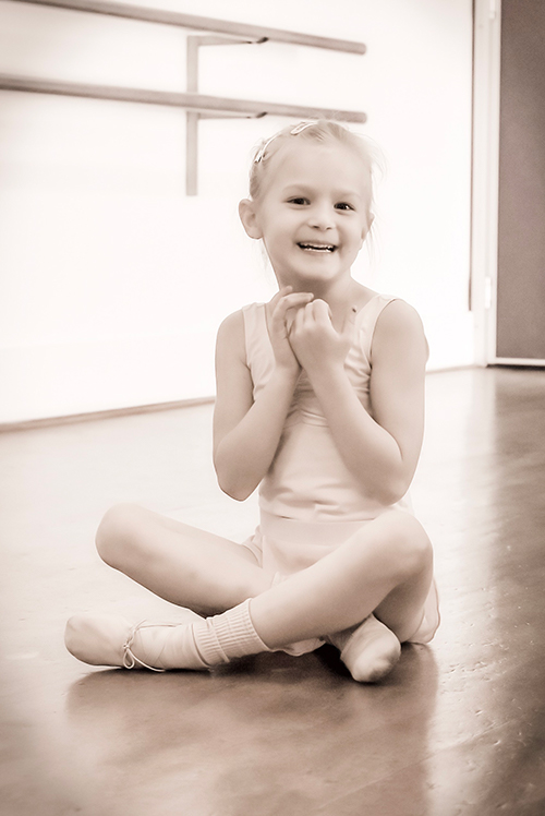 Ballet girl at Tiny Movers
